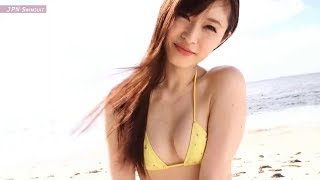 Women Swimwear with Trendy Summer. Model Name : Shizuka Umemoto (梅...