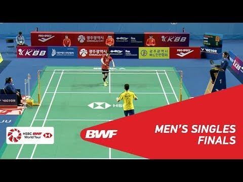 F | MS | SON Wan Ho (KOR) [1] vs LEE Zii Jia (MAS) | BWF 2018