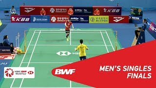 Download Video F | MS | SON Wan Ho (KOR) [1] vs LEE Zii Jia (MAS) | BWF 2018 MP3 3GP MP4
