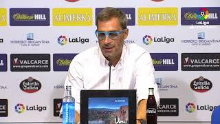 Rueda de prensa de  Jon Pérez Bolo tras el SD Ponferradina vs CD Tenerife (4-0)