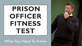 Prison Officer Fitness Test - What You Need To Know