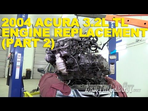 2004 Acura 3.2L TL Engine Replacement (Part 2)