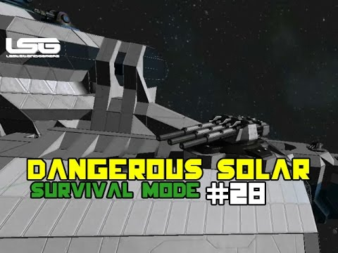 Space Engineers - Dangerous Solar Installation - Part 28