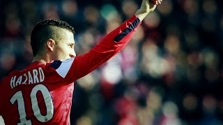 Eden Hazard - LOSC Lille | Beautifull Skills & Goals | HD