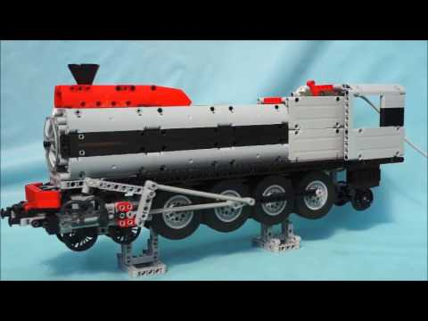 lego technic pneumatic locomotive youtube. Black Bedroom Furniture Sets. Home Design Ideas