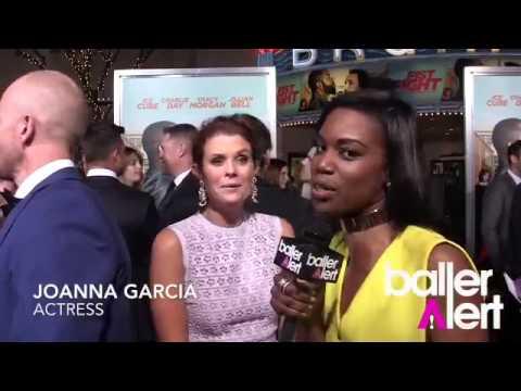 Joanna Garcia Talks Fist Fight Movie Premiere