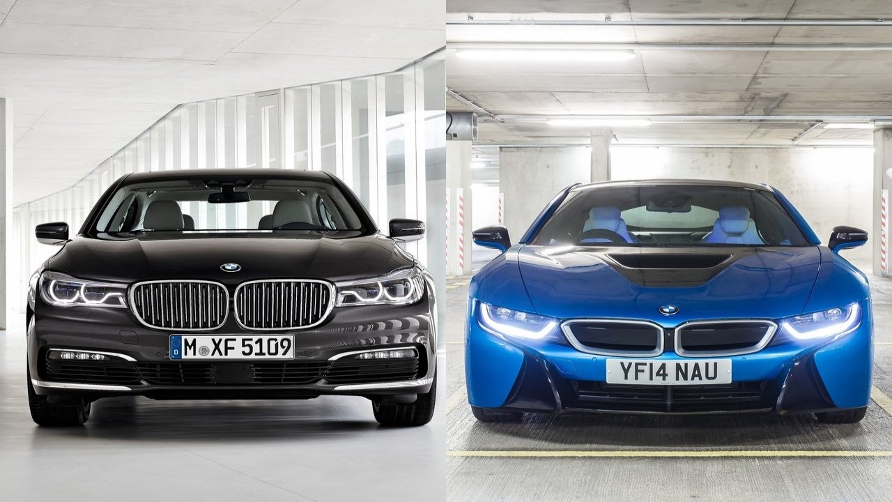 2016 Bmw 7 Series Vs 2016 Bmw I8 Youtube