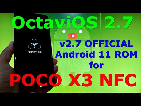 OctaviOS 2.7 OFFICIAL for Poco X3 NFC (Surya) Android 11