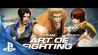 THE KING OF FIGHTERS XIV -  Team Art of Fighting Trailer | PS4