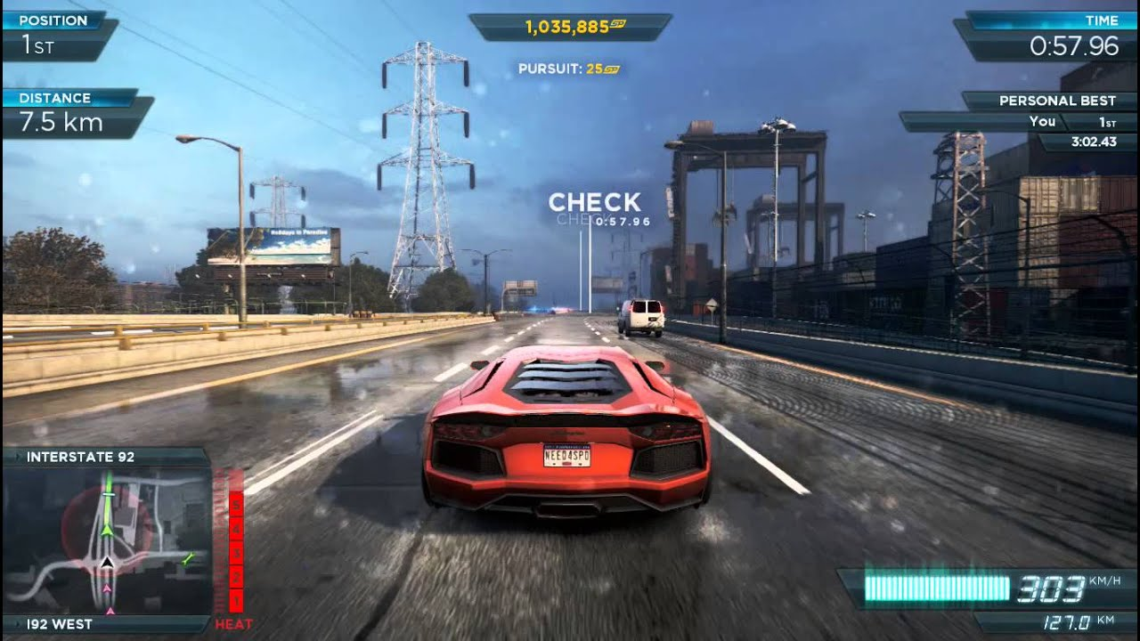 need for speed most wanted lamborghini aventador vs bugatti veyron super s. Black Bedroom Furniture Sets. Home Design Ideas