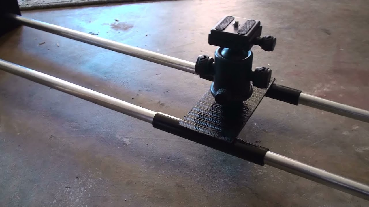 How To Diy Camera Slider Guide Rail Easy Simple Fast Construction