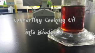 Converting Cooking Oil into Biodiesel