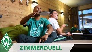 Zimmerduell: Zlatko Junuzovic & Theo Gebre Selassie | SV Werder Bremen