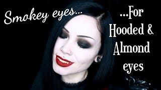 Gambar cover Smokey Eyes...FOR HOODED & ALMOND EYES || Walk-Through Makeup Tutorial - ReeRee Phillips