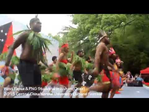 West Papua and PNG Unite in China for Cultural Dance 2015 (Part 1 - Pangkur Sagu by Edo Kondologit)