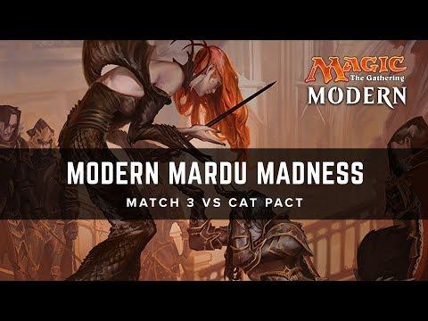 [MTG] Modern Mardu Madness | Match 3 VS Cat Pact