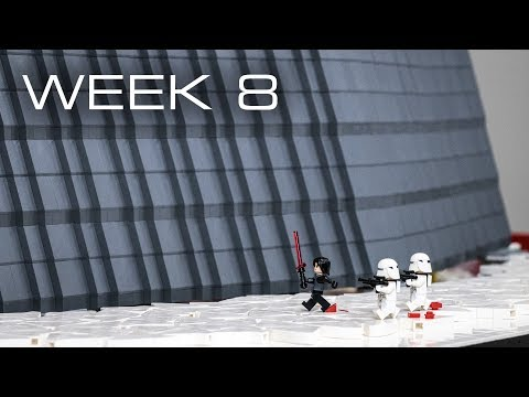 Building Crait in LEGO - Week 8: Reinforcement