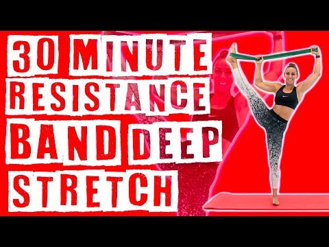 30 Minute Deep Stretch with Resistance Band