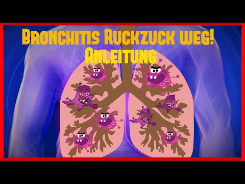 Bronchitis / Chronische Bronchitis schnell und natürlich heilen | Anleitung