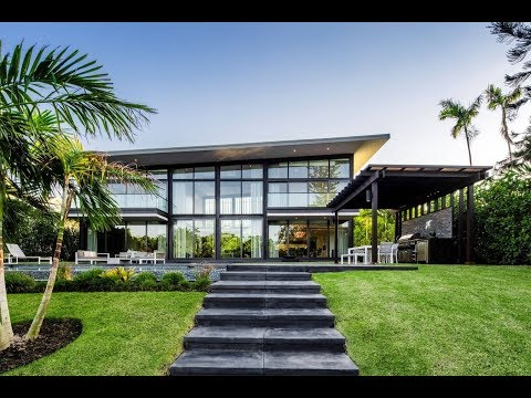 Contemporary Waterfront Mansion in Miami, Florida | Sotheby'