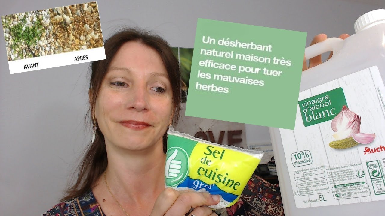 Diy d sherbant naturel maison tr s efficace youtube - Desherbant naturel efficace ...