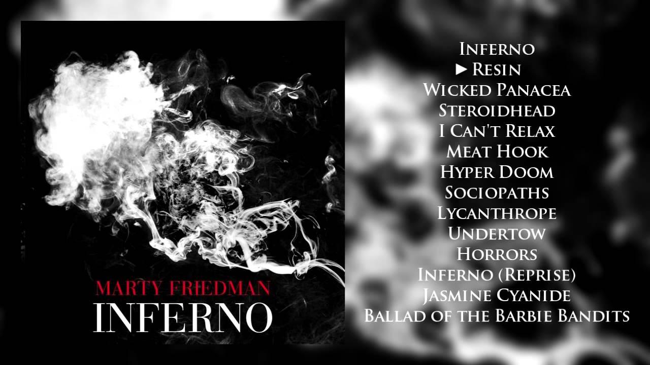 Marty Friedman - Inferno (Full Album + Download)