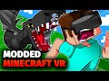 Modded Minecraft VR Terrifies Me