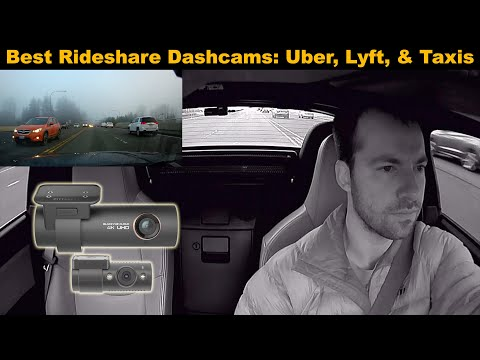 Best Rideshare Dashcams For Uber, Lyft, And Taxi Drivers