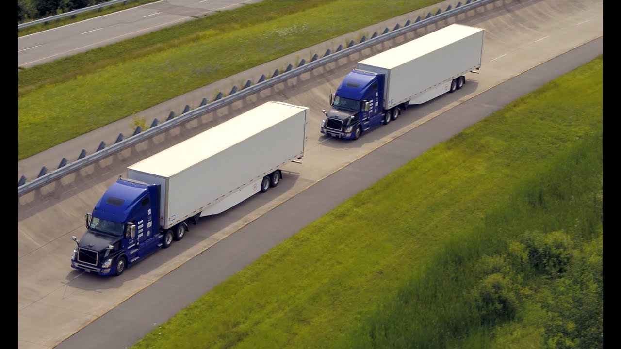 Cooperative truck platooning systems - Part 1 - YouTube