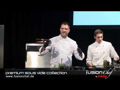 """fusionchef by Julabo - Vienna 2011 Oliver Scheiblauer erklärt """"Sous Vide gegarte Gans"""""""