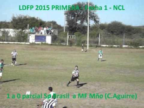 Gol 1 a 0 parcial Sp Brasil VCP a M Ferreyra Mño  Primera 2015