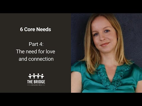 The Bridge Coaching - the core need for love and connection (part 4)