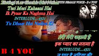 Ek Pyar Ka Nagma Hai - Karaoke With Female Voice / Scrolling Lyrics Eng. & हिंदी