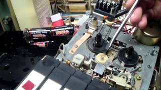 Sears (Sanyo) Tape Recorder Repair Part 1.