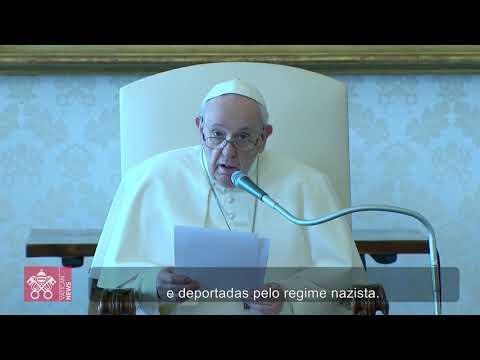 Papa: recordar o Holocausto para que não aconteça outra vez