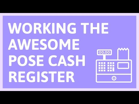 Video Tutorial:  Working the awesome Pose POS cash register