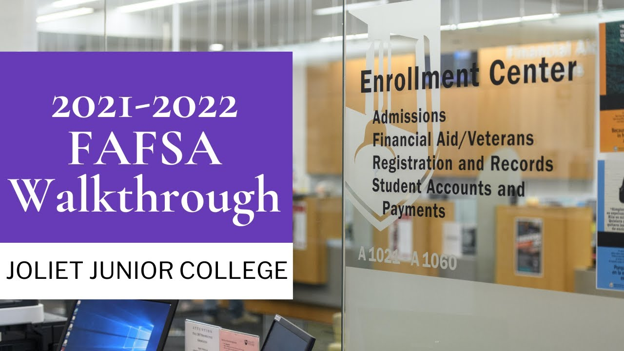 How to apply for the FAFSA for 2021-22