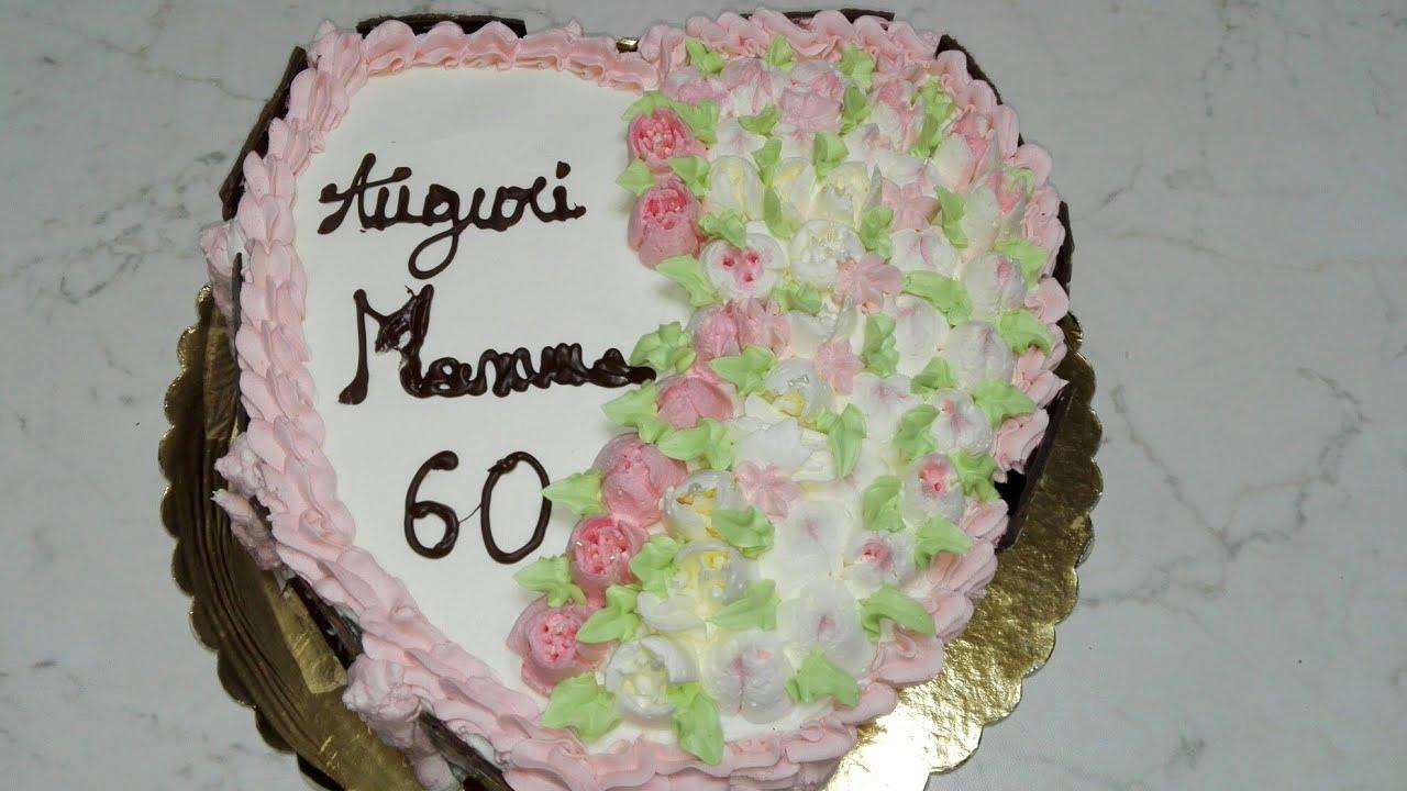 Torta Compleanno Per Mamma.Torta Di Compleanno Per Mamma Beccucci Russi Youtube