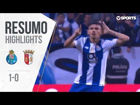Highlights | Resumo: FC Porto 1-0 Sp. Braga (Liga 18/19 #10)
