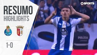 Highlights | Resumo: FC Porto 1-0 Sp. Braga (Liga 18/19 #10)