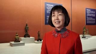 志工導覽|盛唐  青銅鎏金觀音菩薩立像