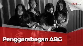Mabuk Jelang Sahur, Cewek-cewek ABG Ditangkap Tim Jaguar