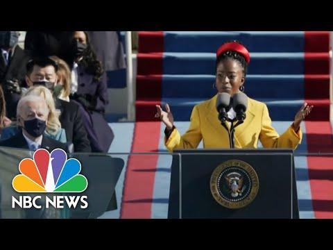 Inaugural Poet Amanda Gorman Discusses Her Powerful Message | NBC Nightly News