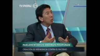 Hildebrando Tapia sobre Intendencia contra el Racismo en el Canal 7