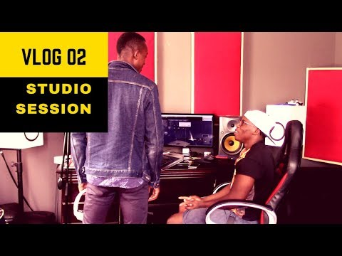 Recording Studio Sesion  - South African Vlog #2 @streetcarnivore