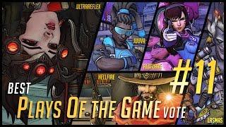 Overwatch | Best Plays of the Game #11 - Overwatch Best PotG Vote (Insane Widowmaker inside)