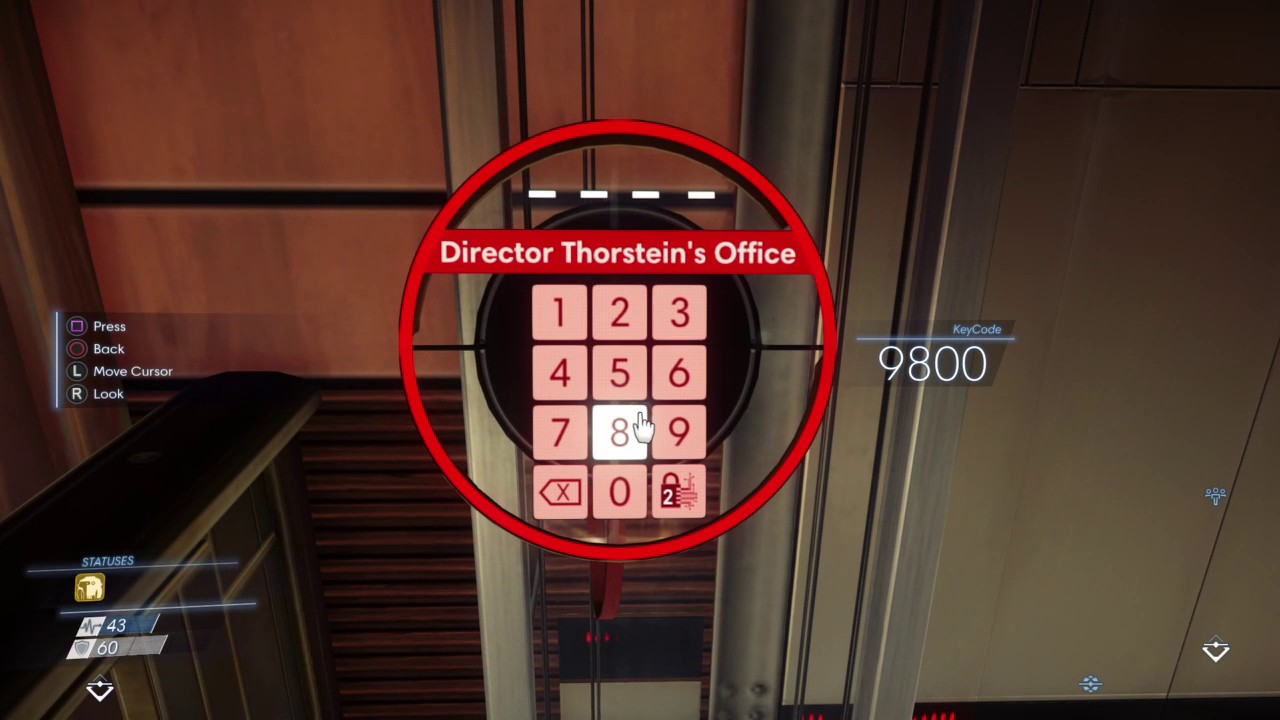 Ufficio Di Kohl Prey : Prey director thorstein s office keycode youtube