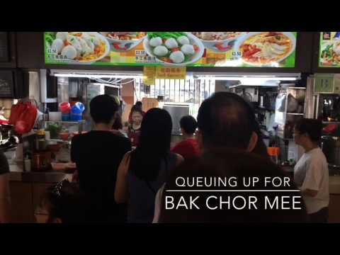 Singapore Bak Chor Mee