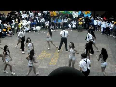 Coreografía San Fernando College 2012 (Alianza Blanca - Media)