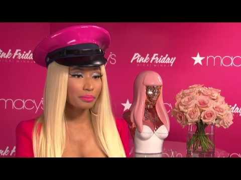 Macys Nicki Minaj Perfume Signing